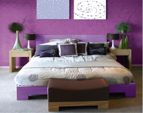 the casas decoracion c mo usar el color fucsia color lila en la sala de estar dormitorio cocina. Black Bedroom Furniture Sets. Home Design Ideas