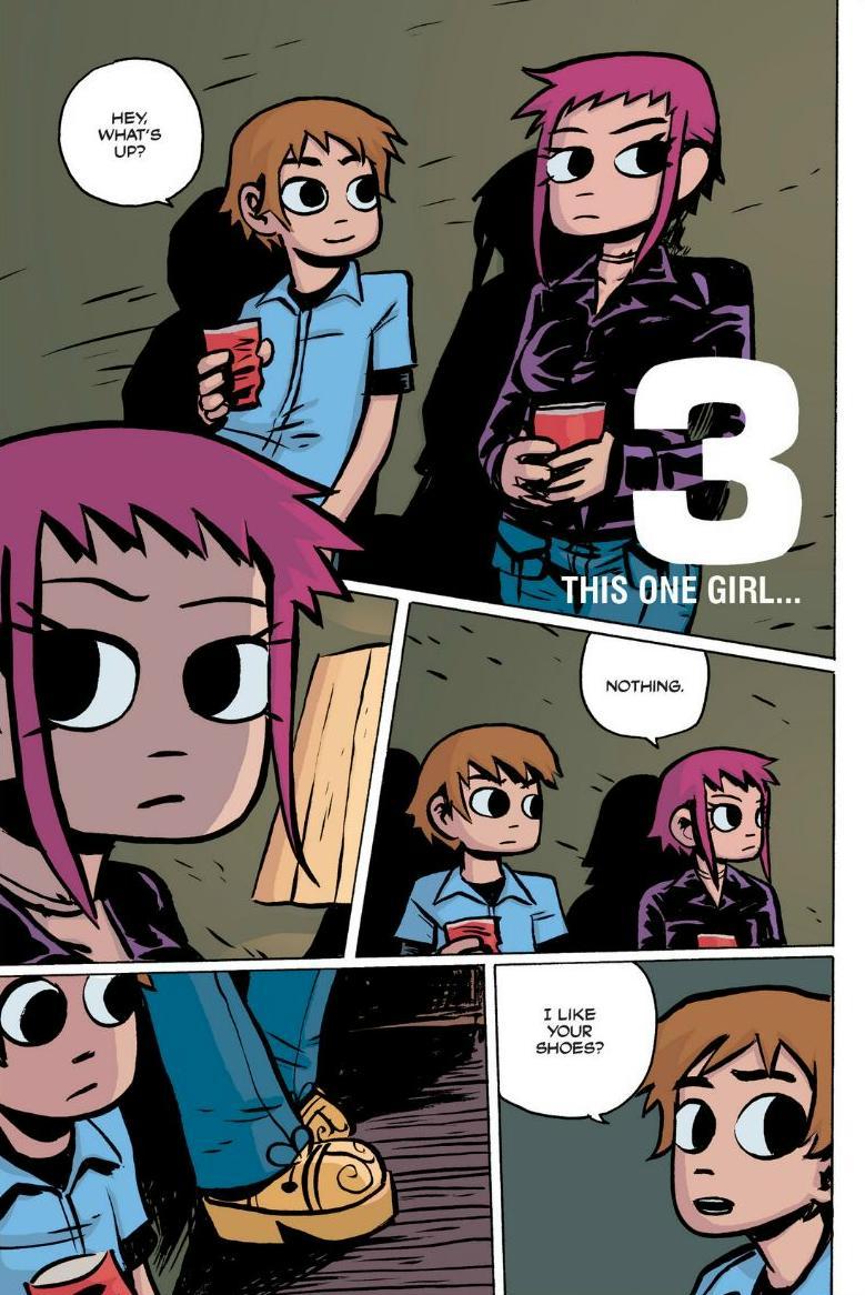 Read online Scott Pilgrim comic -  Issue #1 - 51