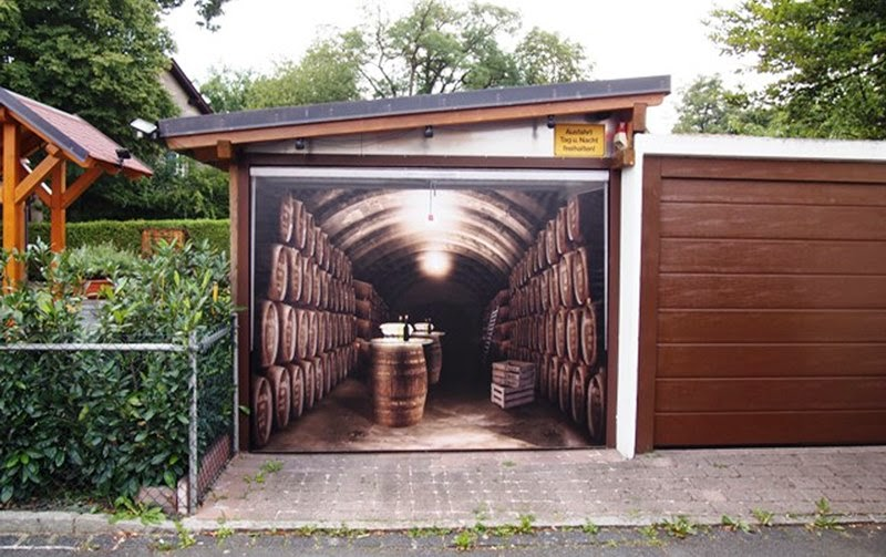 3D Garage Door Sticker | Style Your Garage
