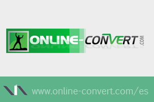 Online Convert transforma diferentes archivos de una extensión a otra