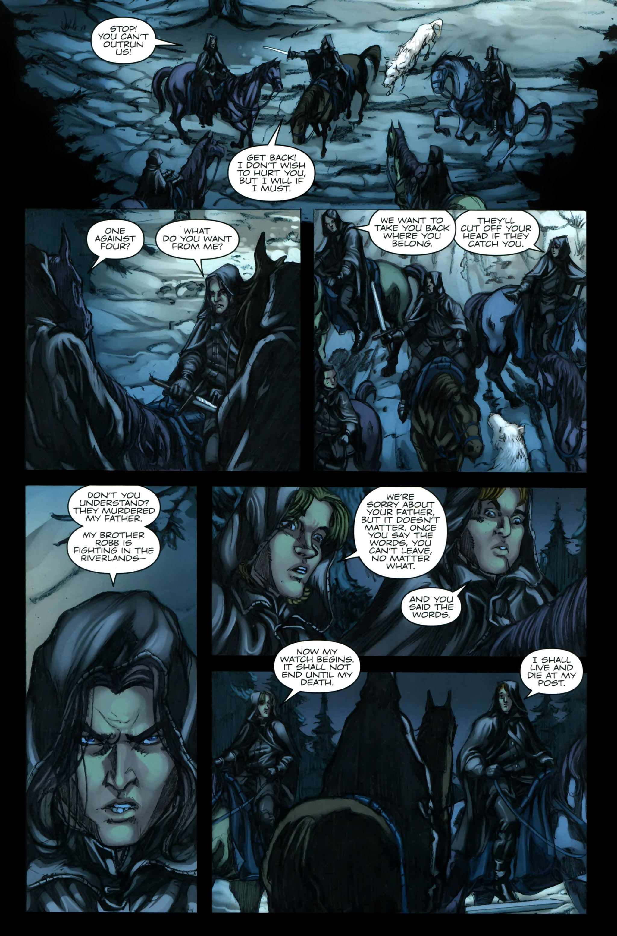 Read online A Game Of Thrones comic -  Issue #24 - 7