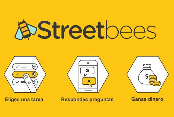 Streetbees: Tareas muy bien pagadas a través del móvil