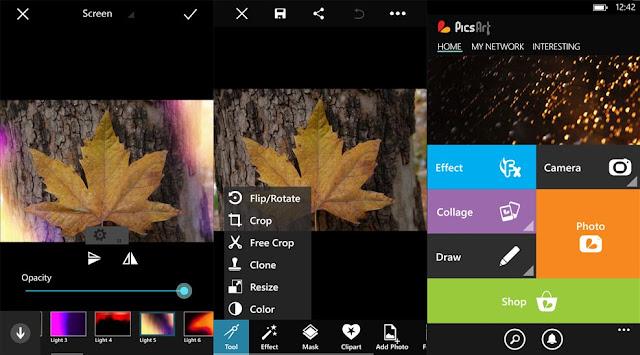 تطبيق تعديل وتحرير الصور PicsArt Photo Studio |النسخة الكاملة