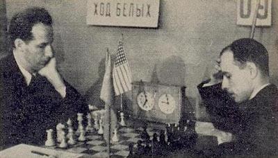 Partida de ajedrez Ulvestad - Bronstein, Moscú 1946