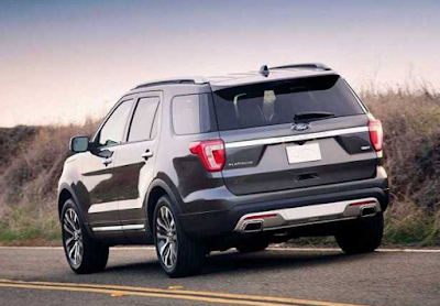 2017 Ford Explorer Redesign, Interior, Specs