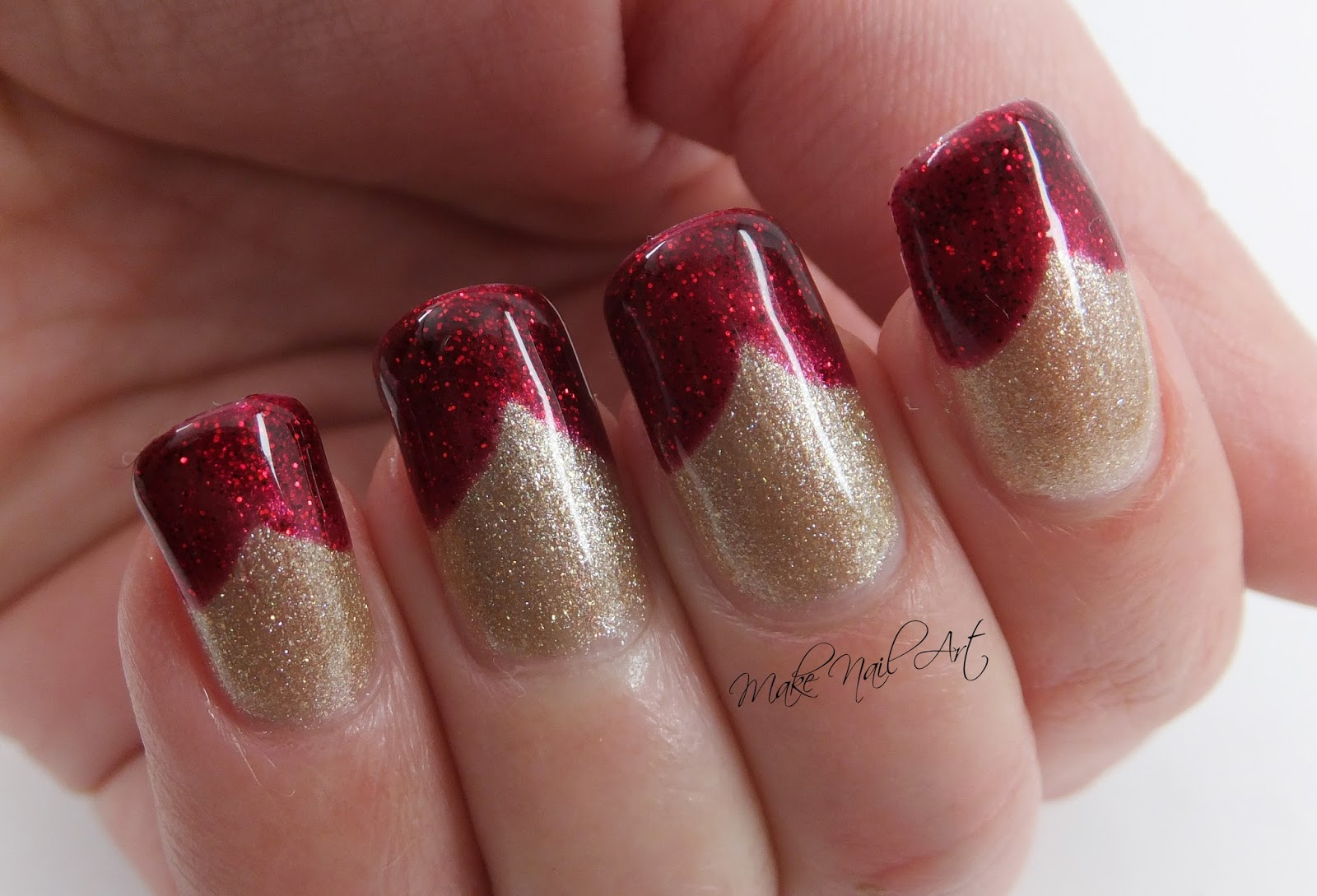These Two Colours Are Perfect For Christmas Manicures Or Something Valentines Day