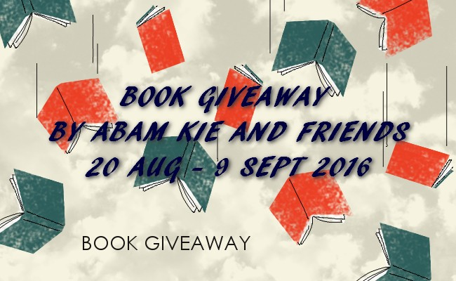 """Jom Join """"Book Giveaway By Abam Kie and Friends"""""""