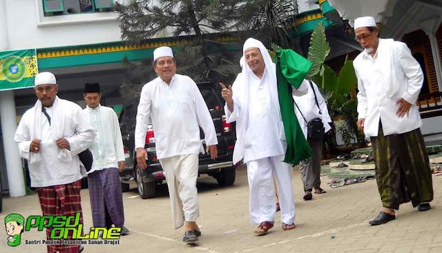 Habib Luthfi dan KH Abdul Ghofur