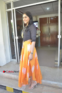 Actress Regina Candra Stills at Maanagaram Movie Press Meet  0021.jpg