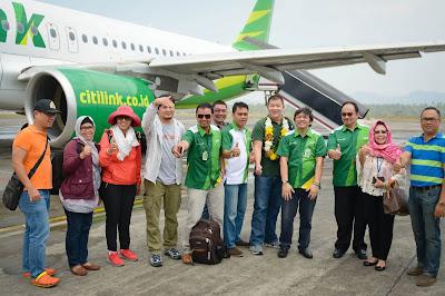 Penerbangan Inagurasi Citilink rute Jakarta Manado