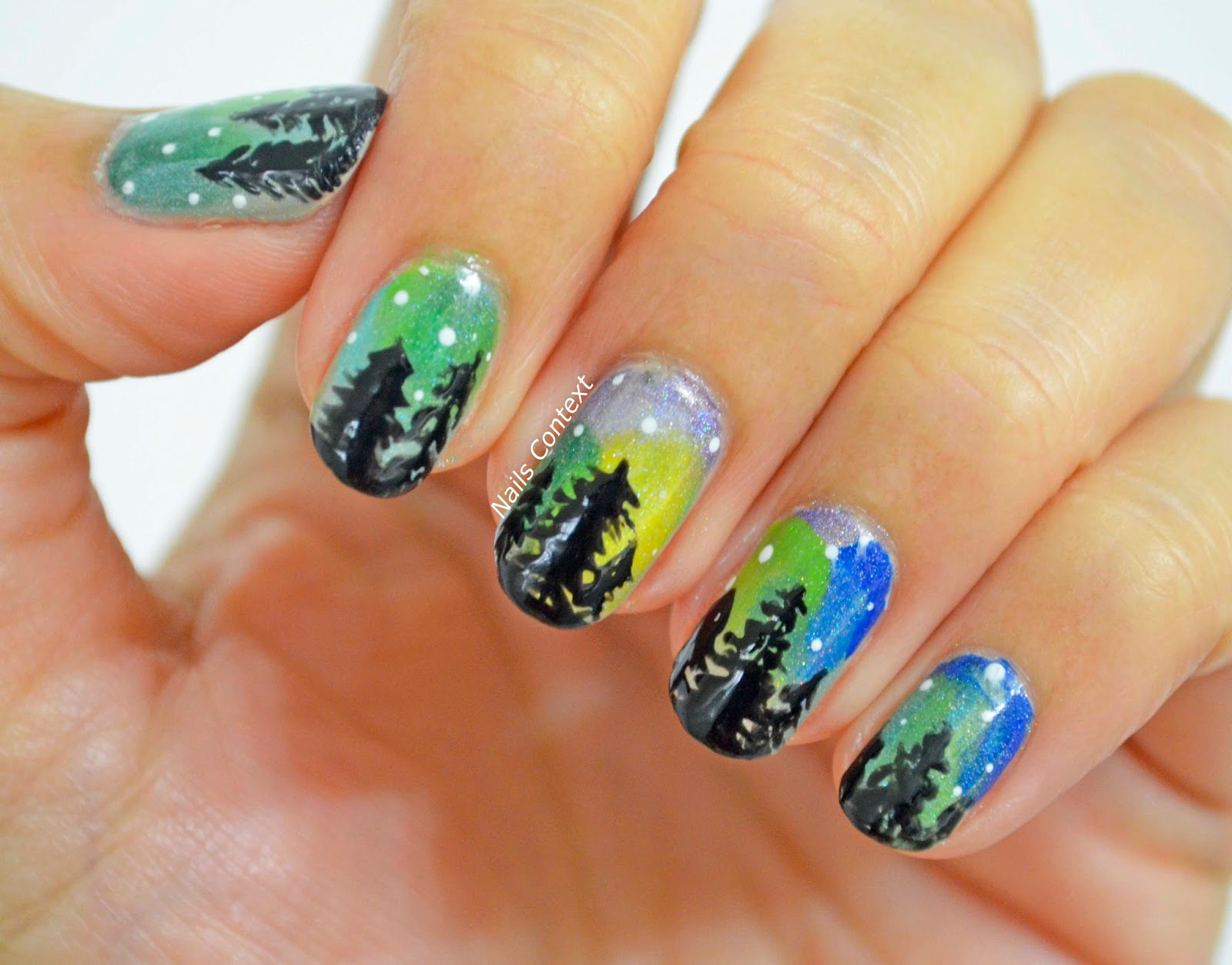 Nails Context: Beauty Big Bang | Double ended gradient sponge tool
