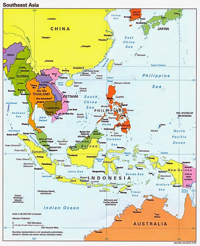 Gambar Negara Asean Beserta Ibukotanya 11 Nama Ibukota Negara Di Asia Tenggara