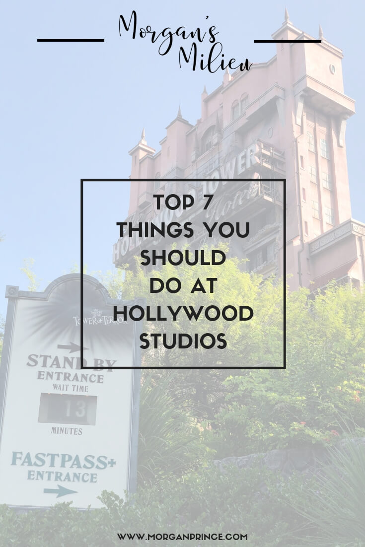 Top 7 Things You Should Do At Hollywood Studios, Walt Disney World | Some of the best things to see and do at Hollywood Studios.