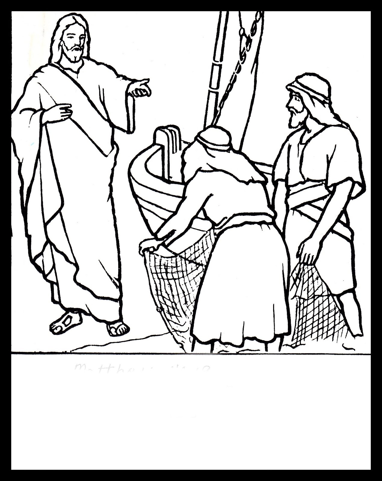 Christian Images In My Treasure Box: Cast Your Nets On The