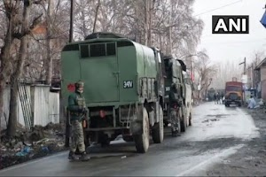 Encounter in Pulwama Killed Four Army and One Civilian