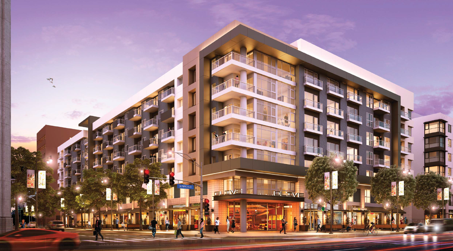 Building Los Angeles Hanover Group Plans South Park Domination With Another Mixed User