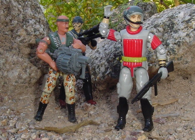 1987 Sneek Peek, Tunnel Rat, 2004 Desert Patrol Gung Ho