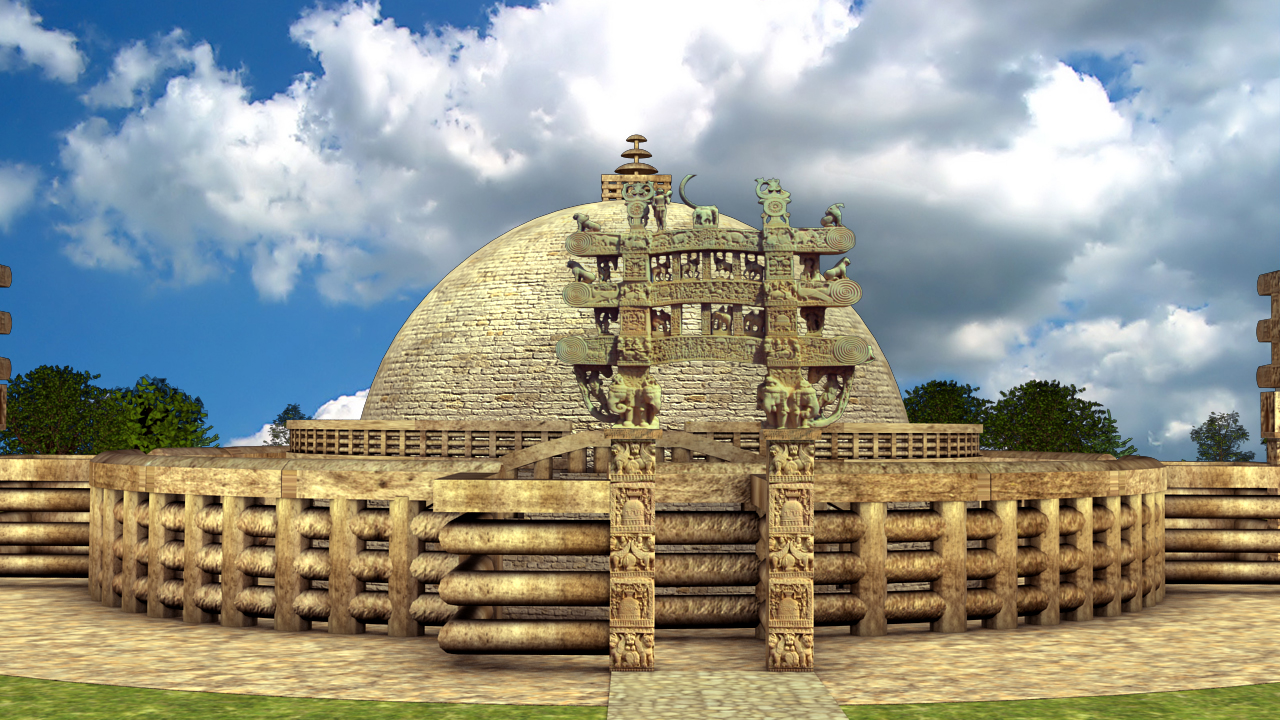 Sanchi Stupa Wallpaper Hd