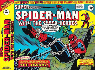 Super Spider-Man with the Super-Heroes #197, the Tarantula and the Jackal
