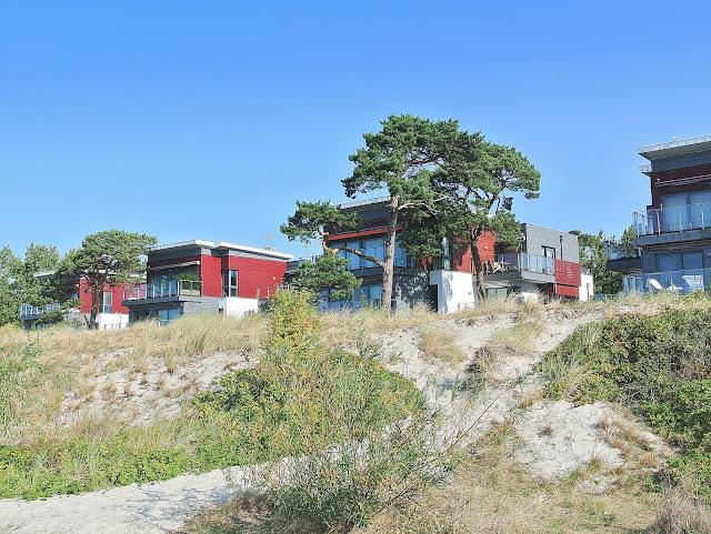 apartamenty nad brzegiem morza, Jurata