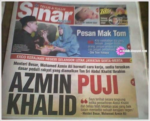 Lu Pikir La Sendiri ~ Azmin Puji Khalid