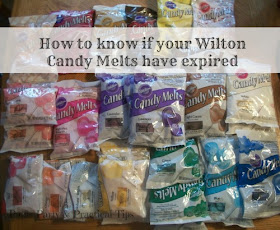How to know if your Wilton Candy Melts have expired