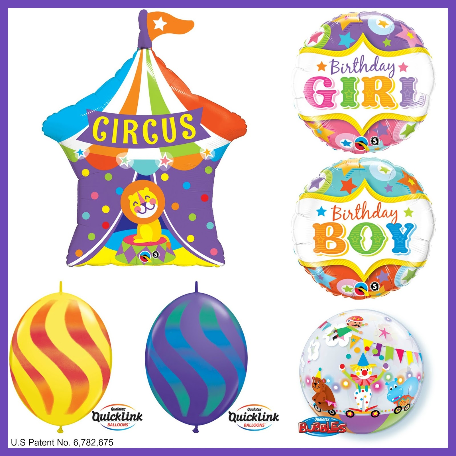 The Very Best Balloon Blog: Circus-Themed Decoration For Kids Parties