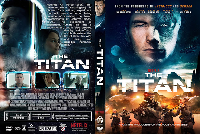 The Titan DVD Cover