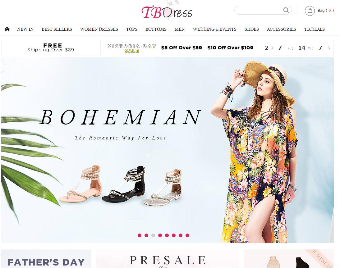 21e52fabe5886 موقع تب دريس tbdress من أفضل المواقع الصينية لبيع الملابس النسائية  والرجالية بالجملة والتجزئة وهو يتوفر على جميع أنواع الملابس العصرية  والأزياء الفاخرة حيث ...