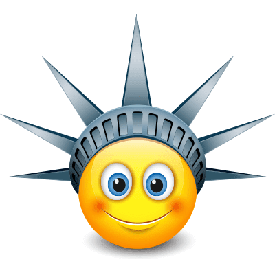 Lady Liberty Smiley