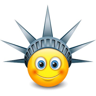 Lady Liberty Smiley
