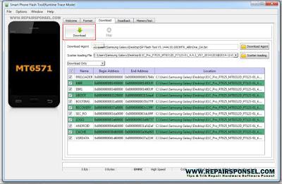 Cara Flash Advan E1C Pro P7025 V1.0 KK4.4.2