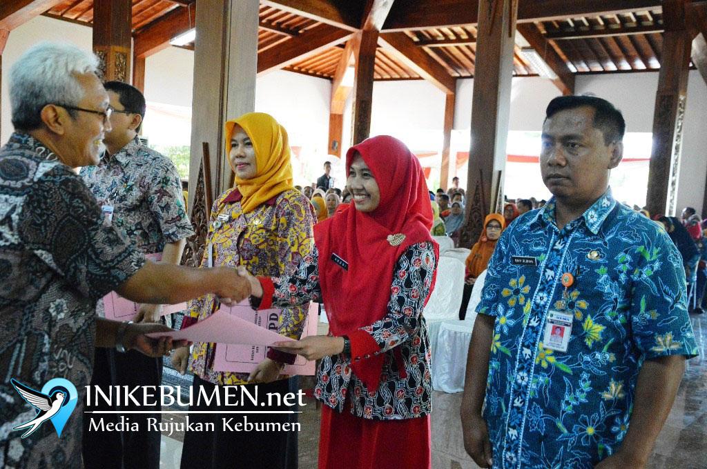 SK Kenaikan Pangkat 149 PNS Kebumen Tertunda