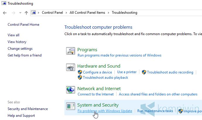 Windows Update Macet & Berhenti Sendiri di Windows 10, Ini Cara Mengatasinya 7