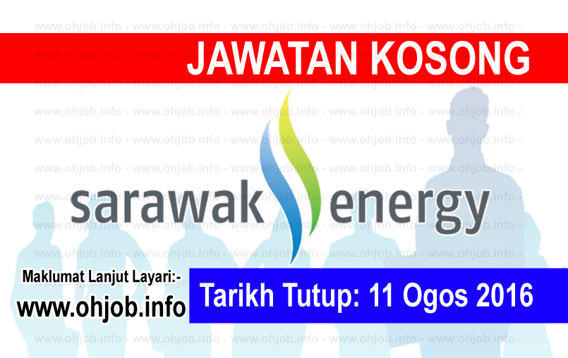 Jawatan Kerja Kosong Sarawak Energy logo www.ohjob.info ogos 2016