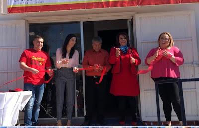 Diputada Magdalena Uribe del PT inaugura Casa de Enlace en Bahía de Kino; asiste Ana Laura Bernal diputada federal
