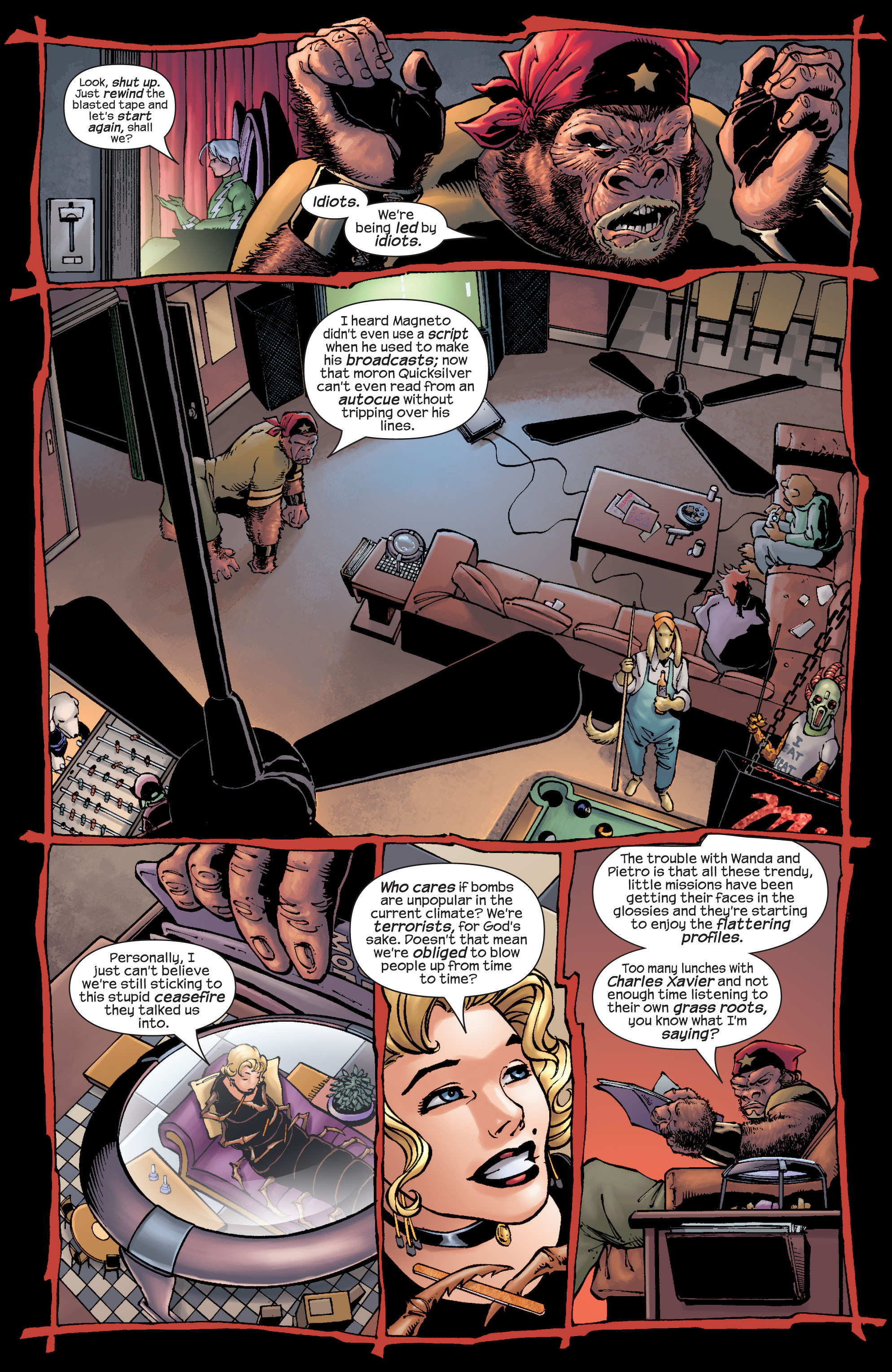 Read online Ultimate X-Men comic -  Issue #22 - 10