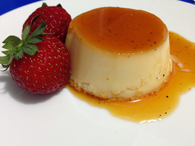 Rachel khoo's creme caramel from My Little Paris Kitchen