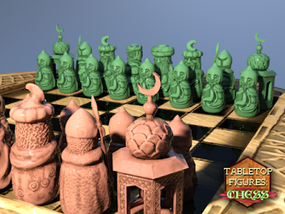 Tabletop Figures Chess