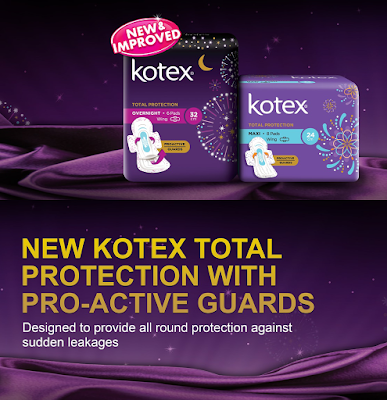 Malaysia Kotex Total Protection Free Sample