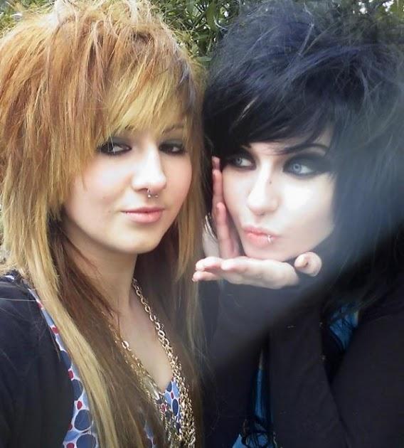 fashion hairstyles emo