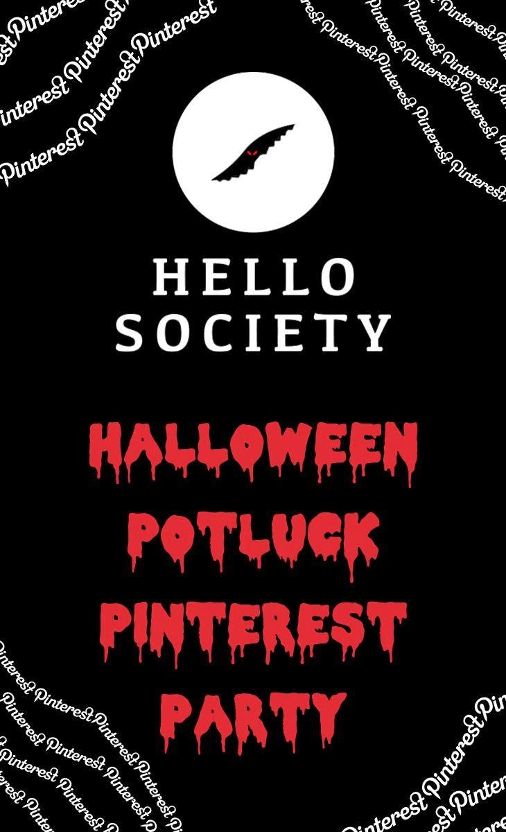 Hellosociety Halloween Potluck Pinterest Party