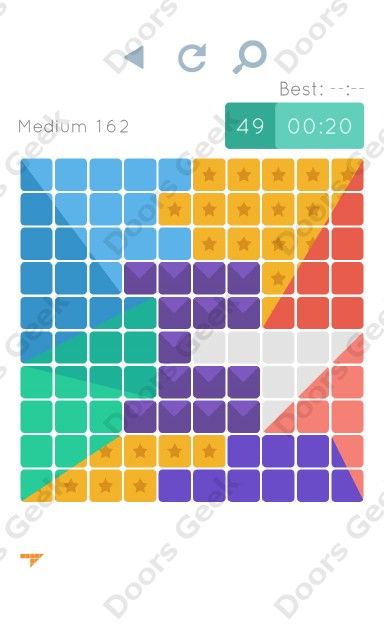 Cheats, Walkthrough for Blocks and Shapes Medium Level 162