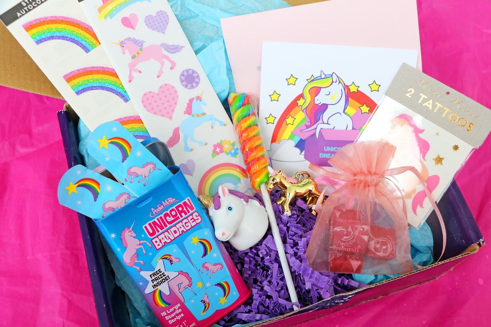 Unboxing the September 2017 Unicorn Dream Box