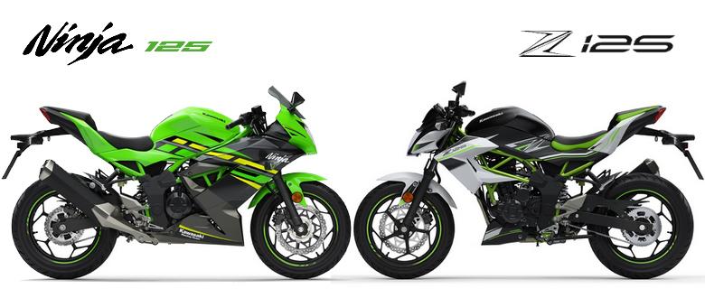 Official Kawasaki Ninja 125 Z125 Motorcycles Are Expected To