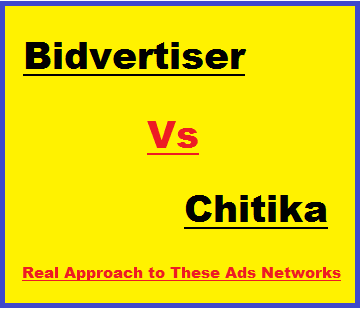 Bidvertiser Vs Chitika