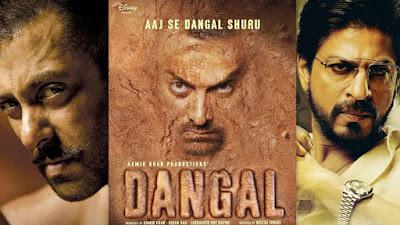 सलमान, आमिर, शाहरुख खान तिकड़ी की आगामी फ़िल्मों का पोस्टर