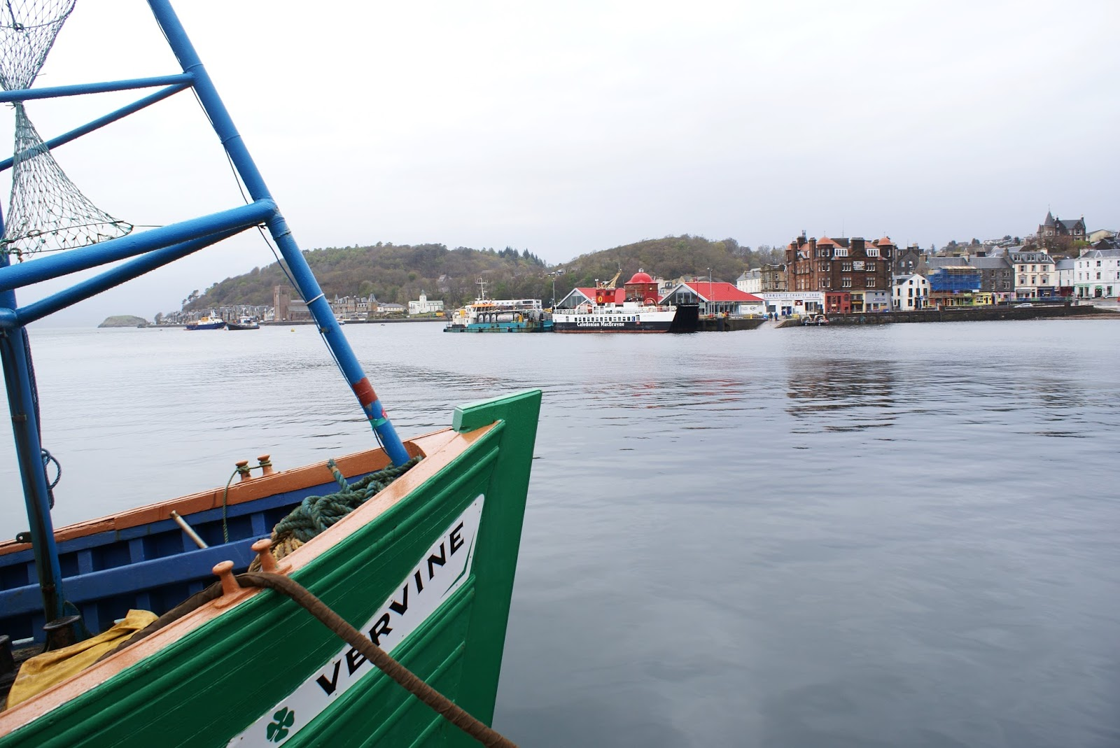 boat oban argyll highlands scotland uk great britain camomille blend
