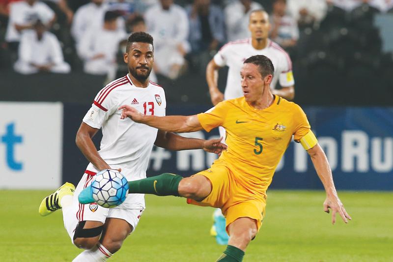 توقيت موعد مباراة الإمارات وأستراليا غدا الثلاثاء 28-3-2017 في تصفيات كأس العالم وأهم القنوات الناقلة لها