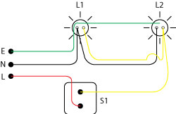 One step pendawaian rumah house wiring 2 suis 1 lampu 1 suis 2 lampu cheapraybanclubmaster Choice Image